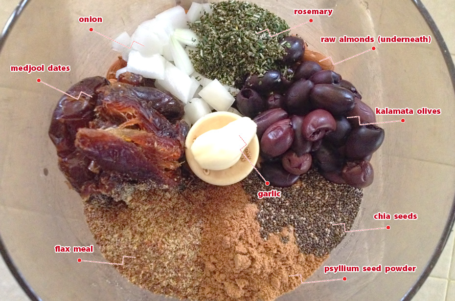 Raw Olive Bread| NutritionYouCanTrust.com