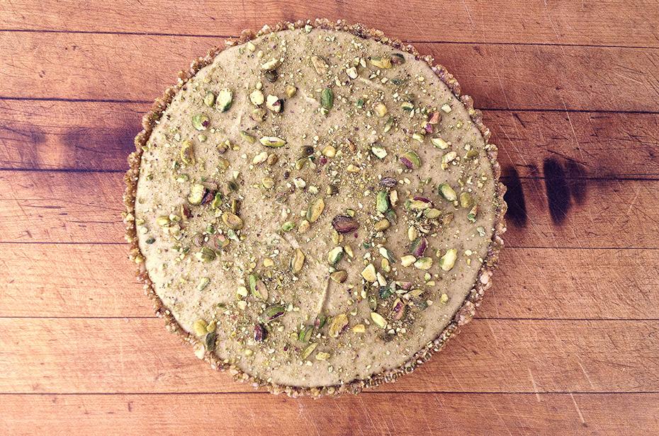 Raw Pistachio Cream Pie Recipe
