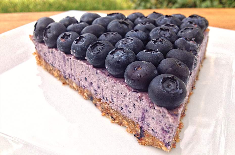 Raw Blueberry Cream Pie Recipe