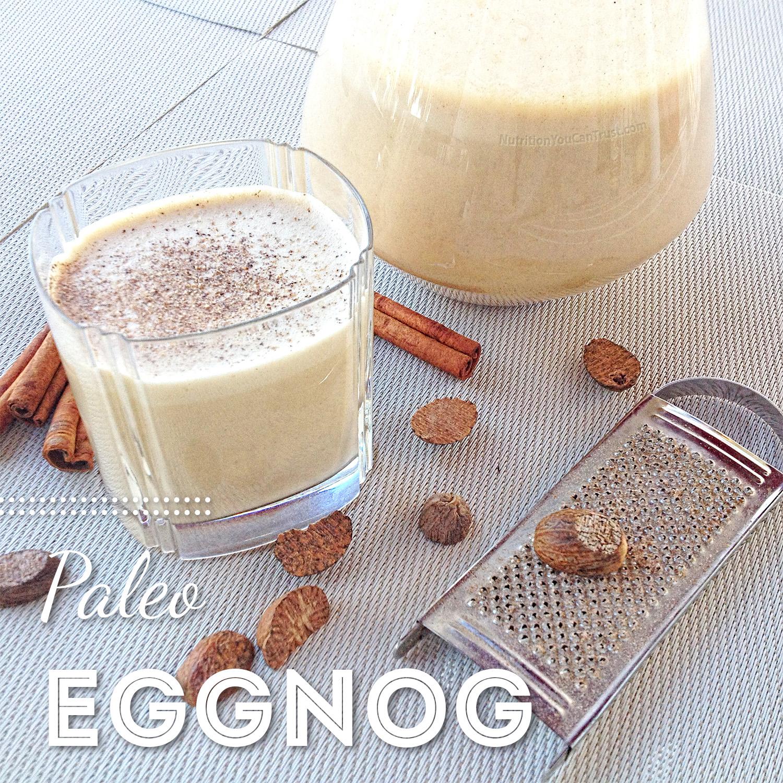 Paleo Eggnog Recipe