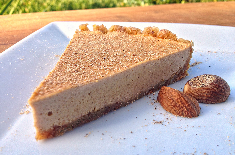Paleo Eggnog Cream Pie Recipe