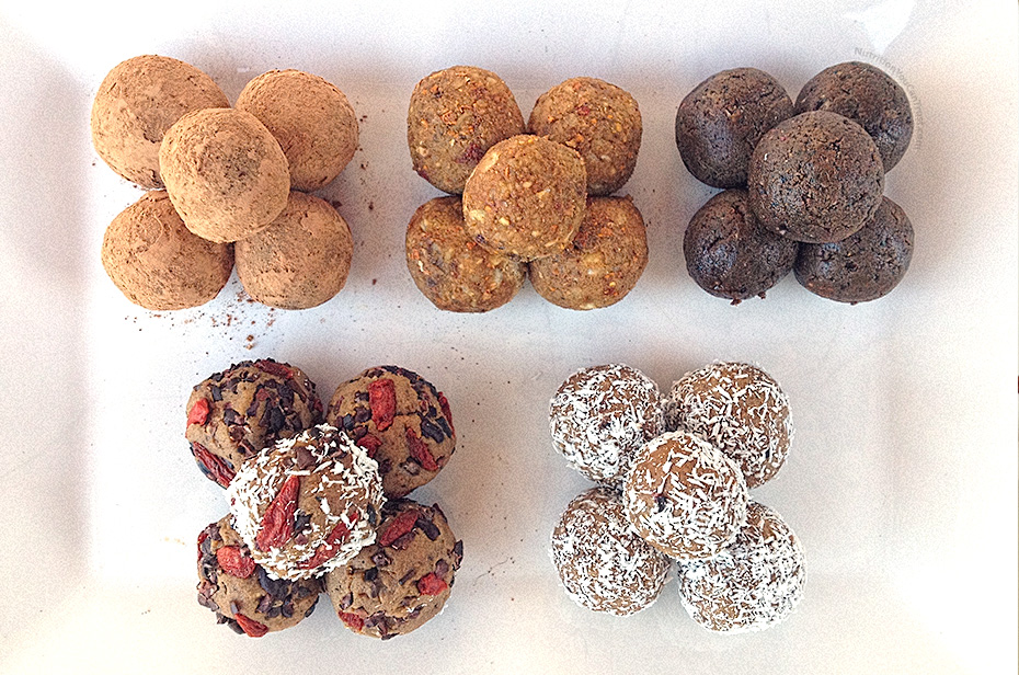 Raw Superfoods Cookie Platter Recipe