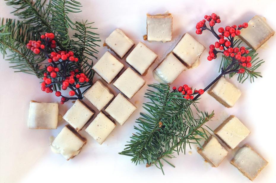 Raw Pecan Maple Bar Bites Recipe