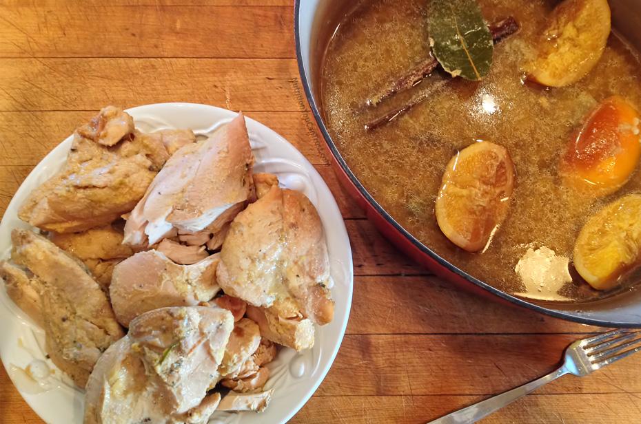 Slow-cooked orange chicken recipe