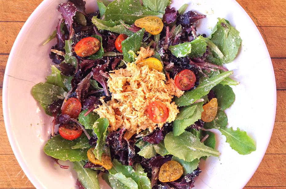 Slow-cooked orange chicken recipe:  Chicken Salad