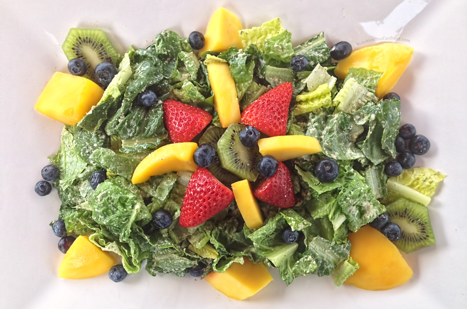 Tropical Cilantro-Jalapeno Salad