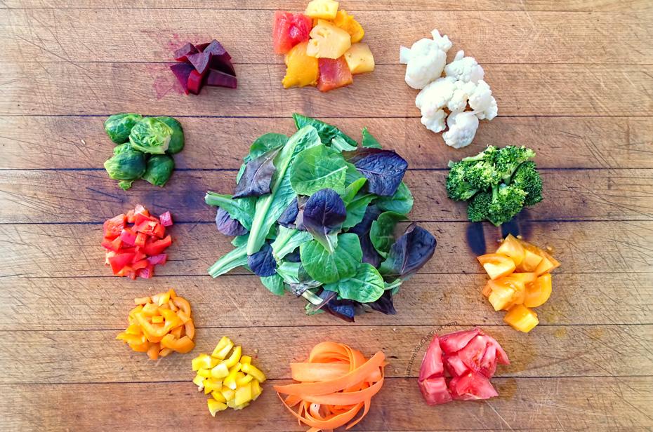Salad meal prep & recipes