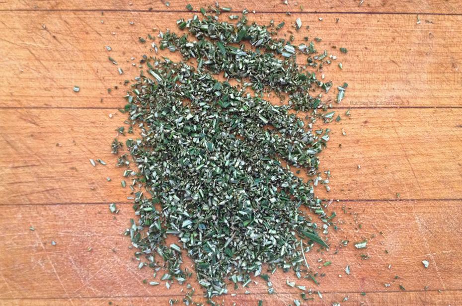 Raw Olive Bread - chopped rosemary| NutritionYouCanTrust.com
