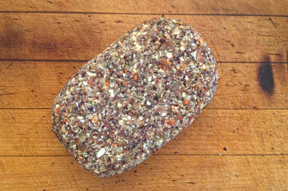 Homemade Paleo & Vegan-friendly Raw Bread Recipe - Loaf image