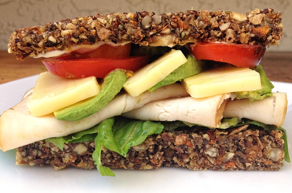 Homemade Paleo & Vegan-friendly Raw Bread Recipe