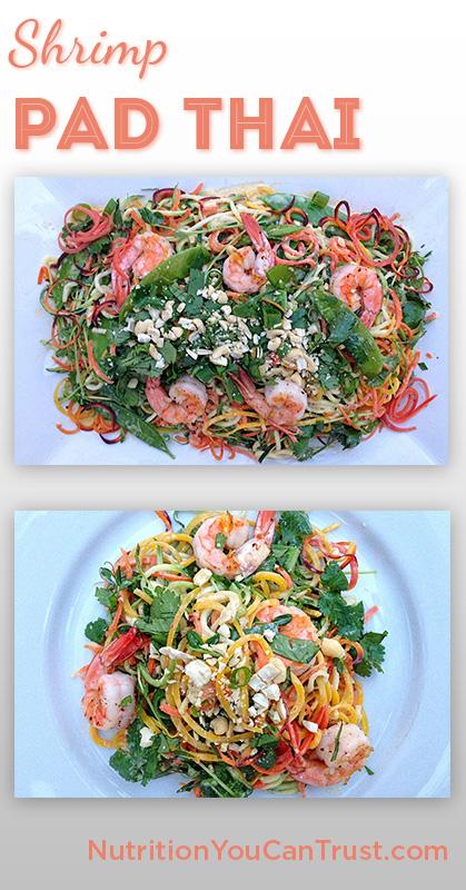 Shrimp Pad Thai - Pin