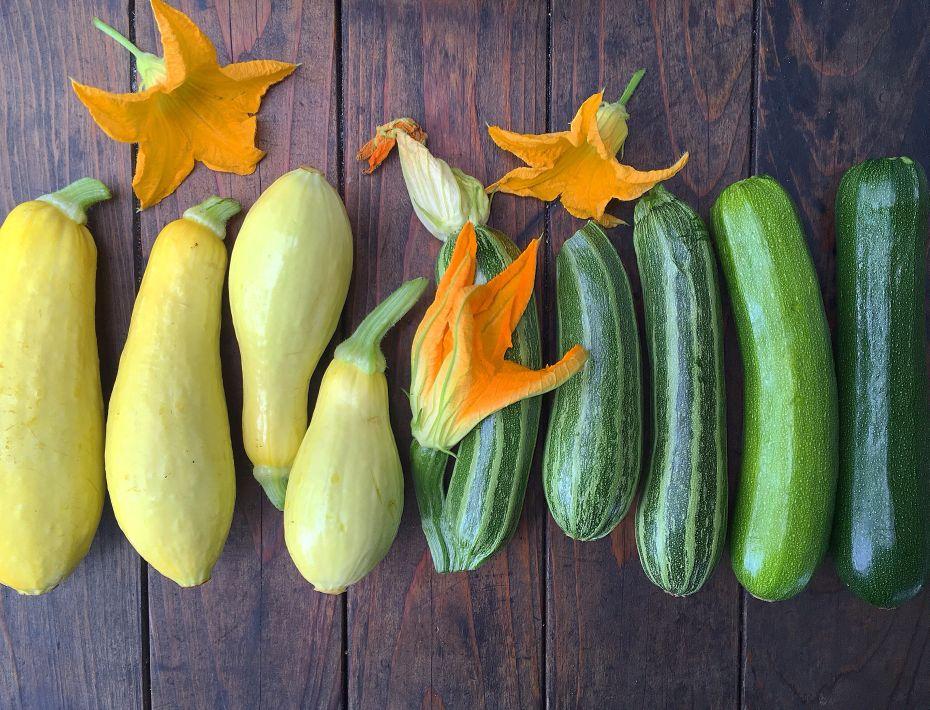 homegrown zucchini - raw zucchini bread